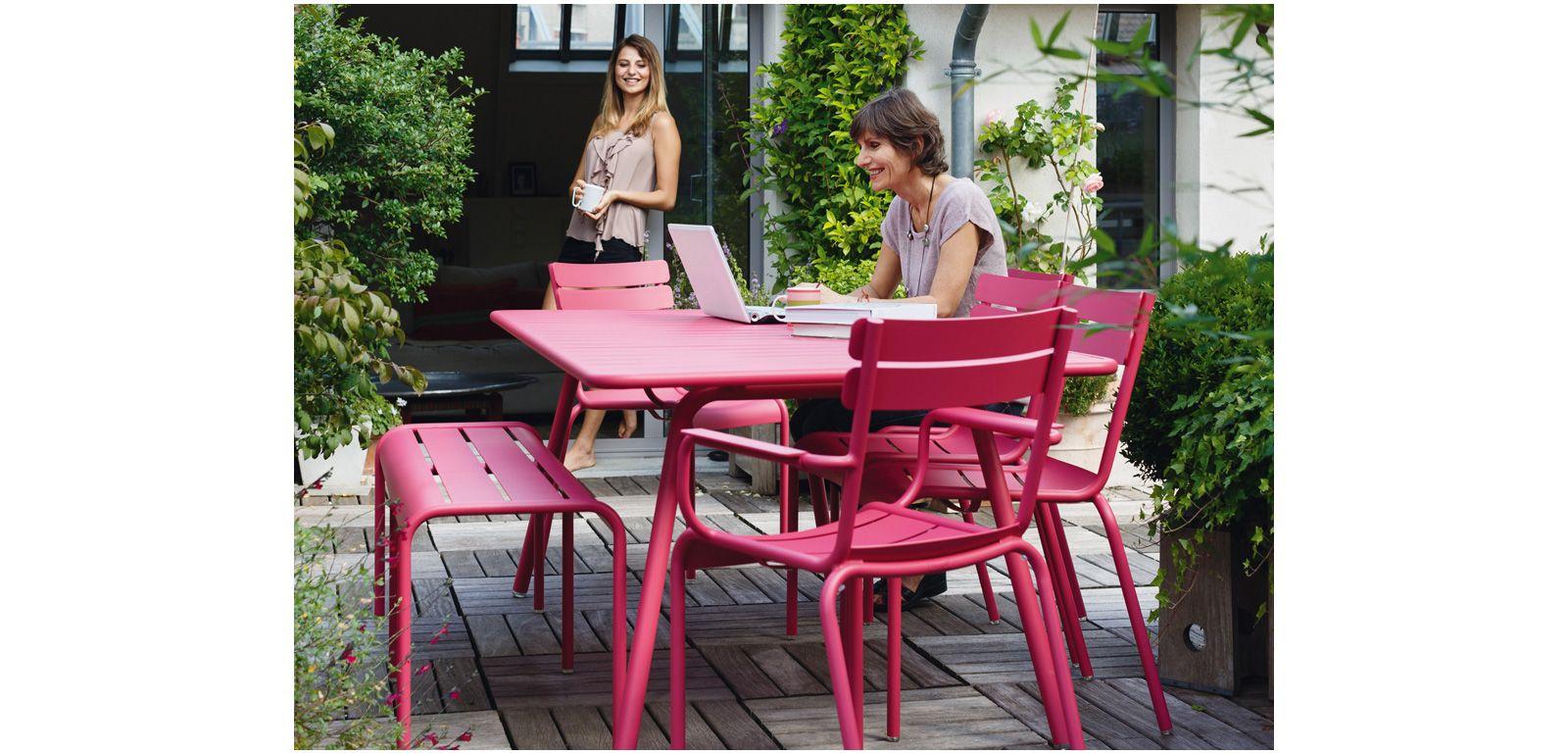 Pink Garden Furniture Outdoor design furniture garden furniture silvera luxembourg collection workwithnaturefo